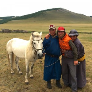 Mongolian horse people